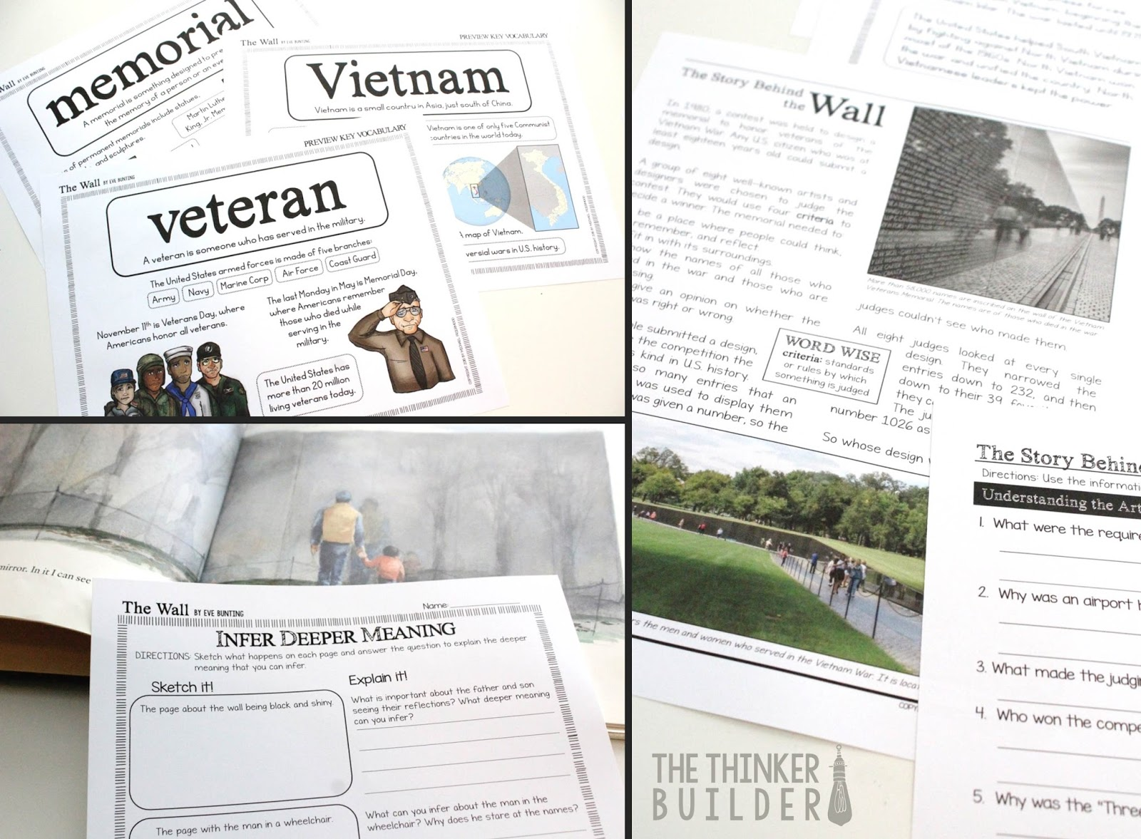Using Literature To Make Veterans Day Meaningful