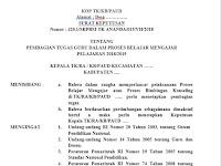 Contoh SKPBM TK PAUD Terbaru