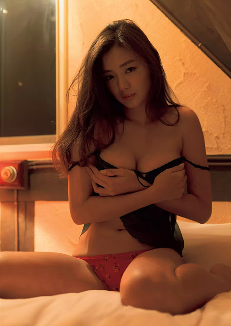 Hot girls Katayama Moemi Japanese lingerie angel 6