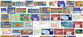 13 Macam Program Evaluasi Diri Sekolah (EDS) Excel Terbaru