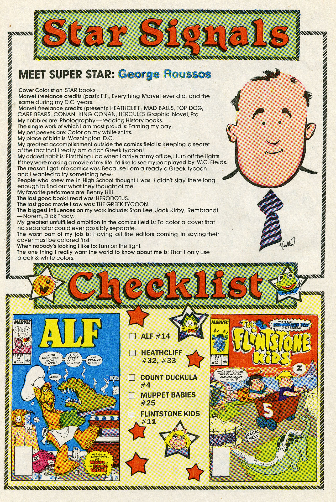 Read online ALF comic -  Issue #14 - 30