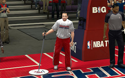 NBA 2K13 Washington Wizards Janitor Patch