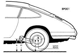 Porsche 1973 Wheel Alignment Repair Guide Auto Motive