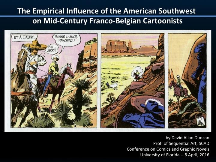 db007b32b7ee UF Comics Conference - BD   the American Southwest