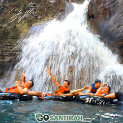 green santirah dan air terjun