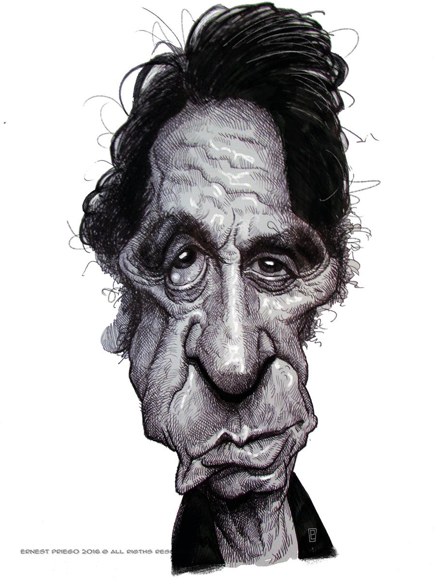 Al Pacino por Ernesto Priego