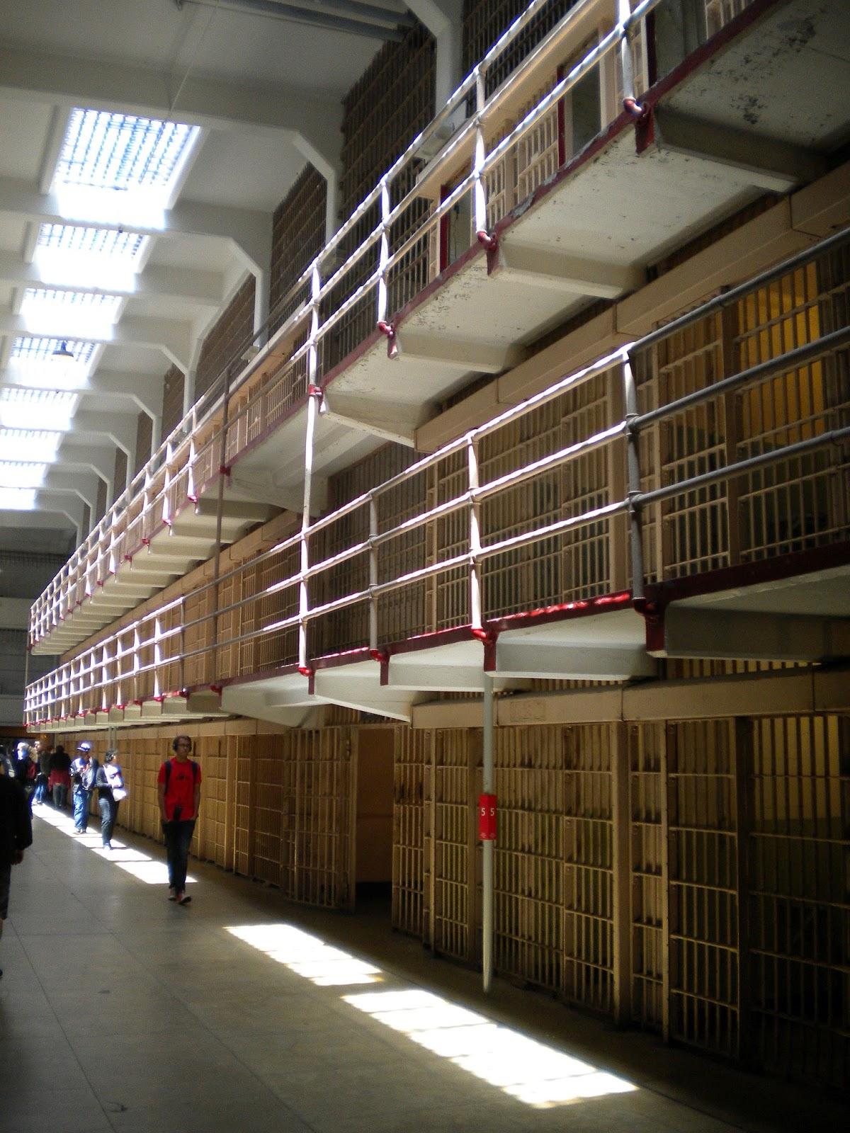 alcatraz the rock prison island vankilasaari san francisco matkailu matkajuttu mallaspulla selliosasto