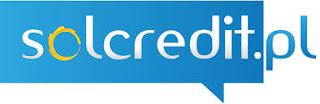 Zdjęcie przedstawia logo firmy pożyczkowej Solcredit