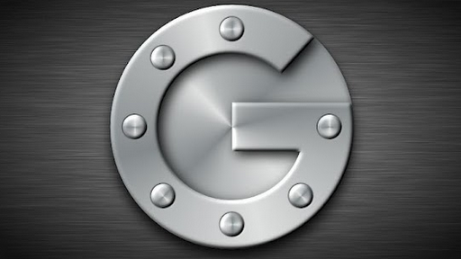 Google Two step verification Application specific password -Lock Image in G shape Color Gray