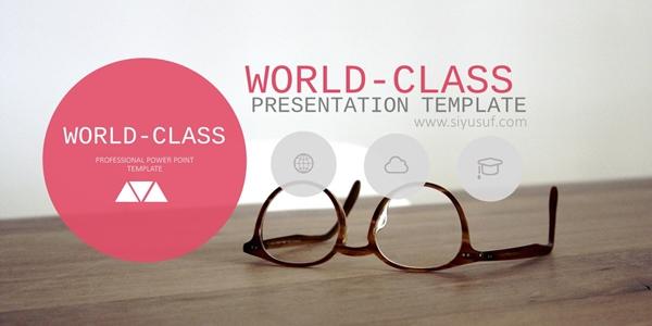 Template Presentasi Powerpoint Berkelas Dunia