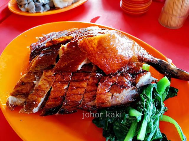 Eating Roast Goose in KL @ Chen Chen BBQ Goose, Duck in Pudu 珍珍深井烧鹅鸭鸡