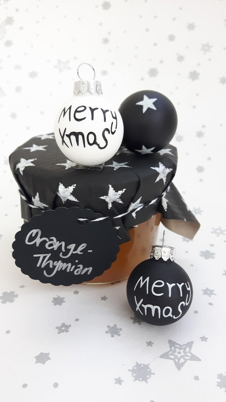 Leckere Weihnachtsgeschenke.Leckere Geschenke Aus Der Kinderkueche Orangen Thymian Marmelade