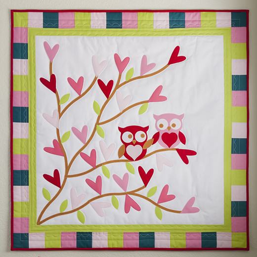 Owl You Need is Love Quilt Free Pattern