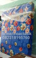 Kasur inoac motif bunga mawar biru inoactasik