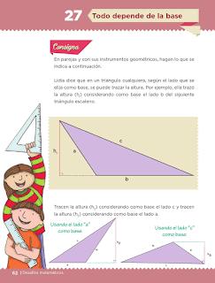 Respuestas Apoyo Primaria Desafíos Matemáticos 5to. Grado Bloque II Lección 27 Todo depende de la base