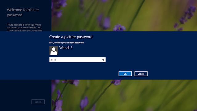 Cara Membuat Password Windows 8 Menggunakan Gambar dengan Mudah