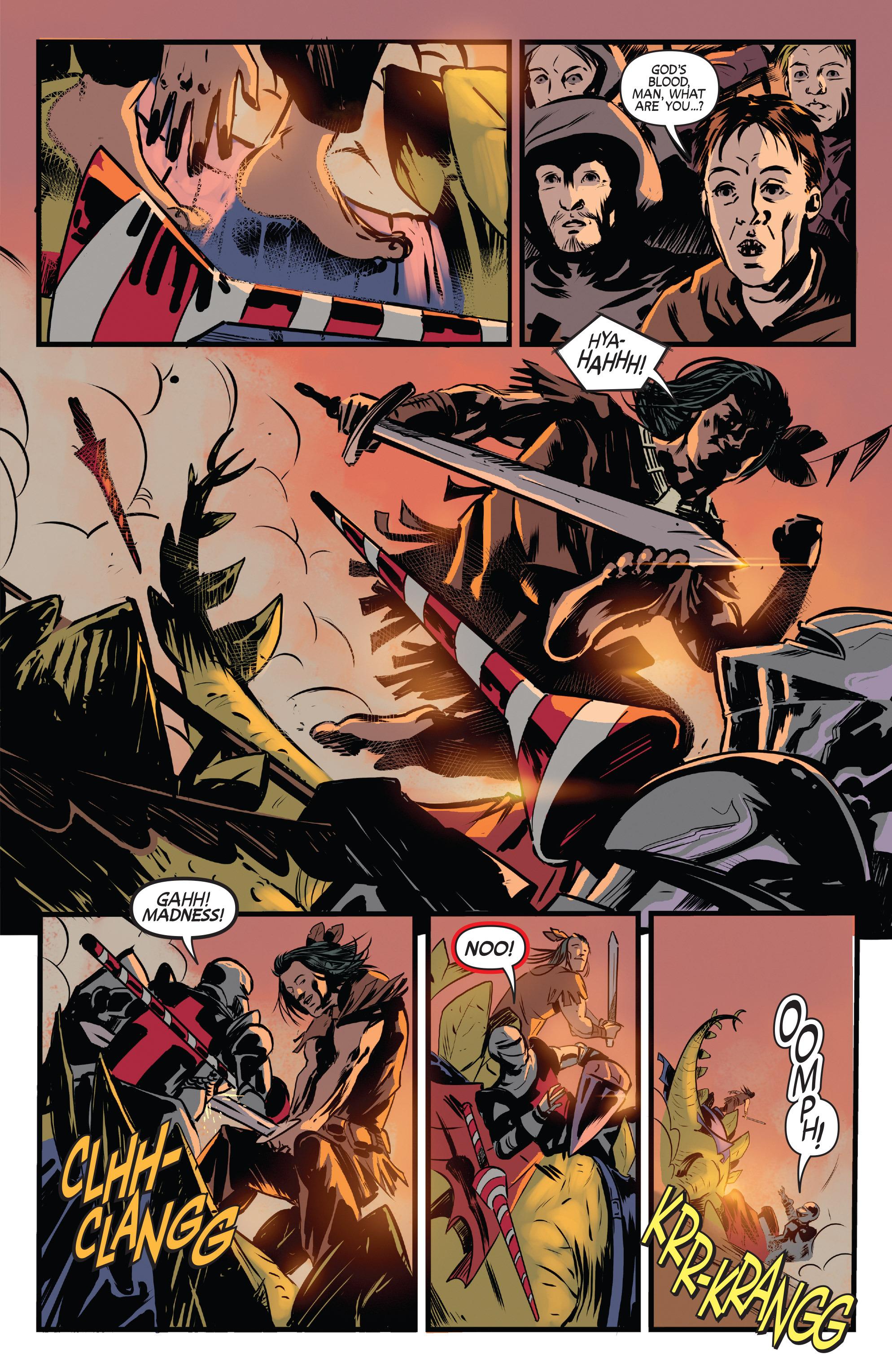 Read online Turok: Dinosaur Hunter (2014) comic -  Issue # _TPB 3 - 37