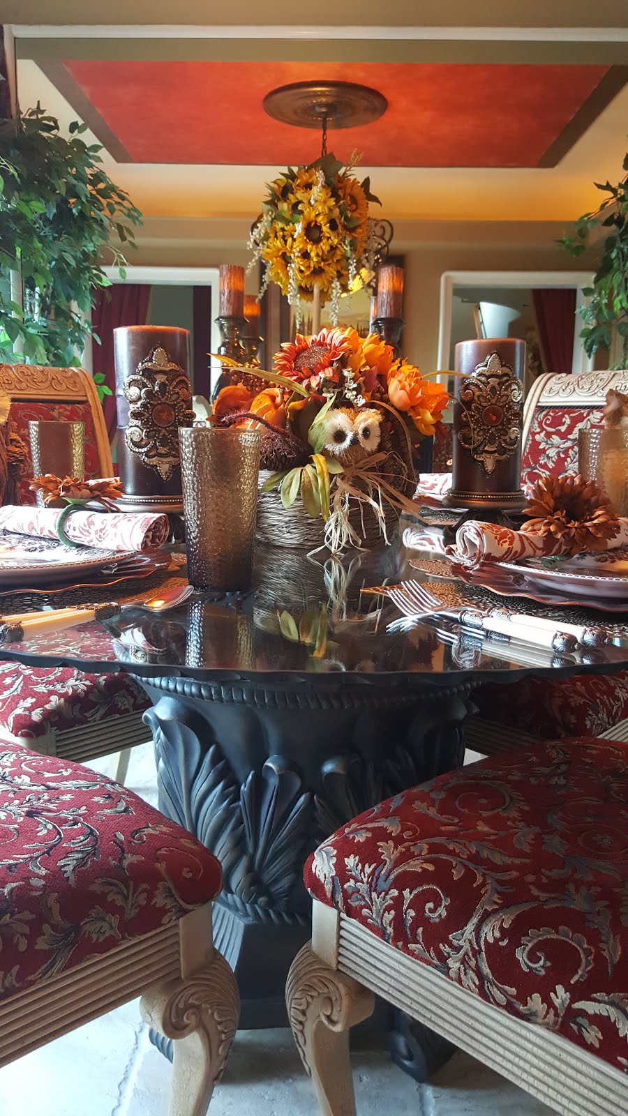 Woodland Critters Table