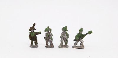 Artillery crew x 4