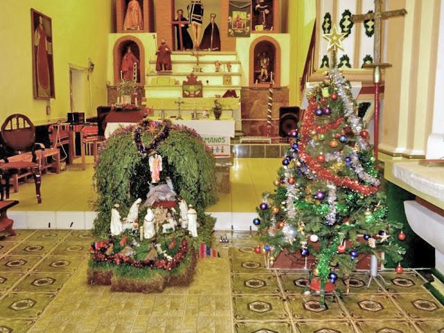 Weihnachtskrippe in der Pfarrkirche von Esmoraca