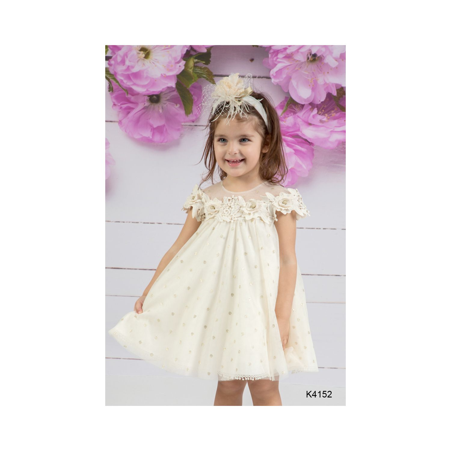 Christening clothes for girls K 4152