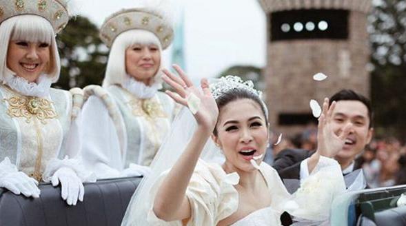 Ini Kata Shandy Aulia Tentang Pesta Pernikahan Sandra Dewi di Jepang