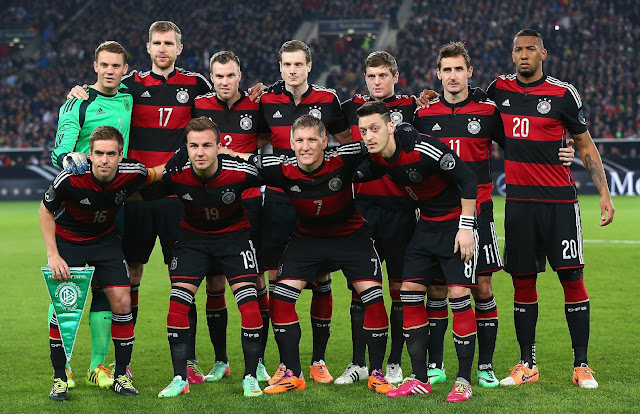 Formación de Alemania ante Chile, amistoso disputado el 5 de marzo de 2014
