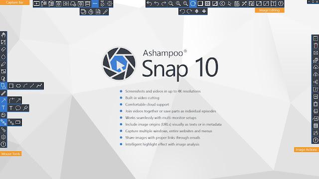تحميل برنامج Ashampoo®  Snap 11 للويندوز