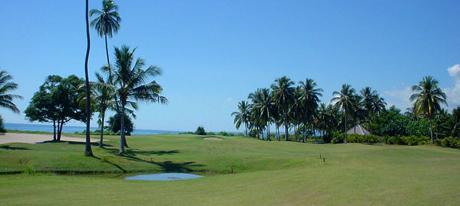 Pemandangan Indah di Lombok Golf Kosaido Country Club di Singgasana Hotels & Resorts