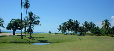 Pemandangan Indah di Lombok Golf Kosaido Country Club di Singgasana Hotels & Resorts
