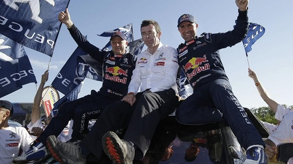 Stephane Peterhansel Campeón Dakar 2017