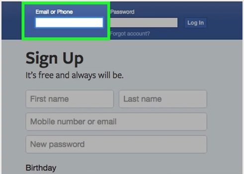 How to Log in to Facebook 2017