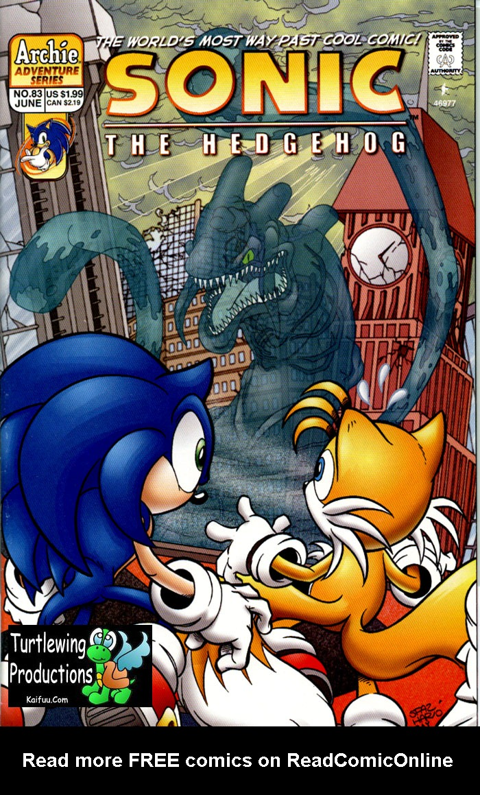 Read online Sonic The Hedgehog comic -  Issue #83 - 1