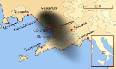 erupción vesubio año 79