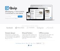 web keren pesan dokumen quip