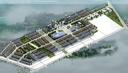 Phối cảnh dự án Đất nền Canary Sông Công, Thái Nguyên