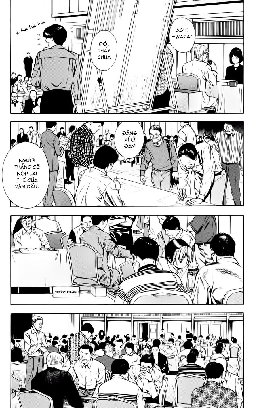 Hikaru No Go hikaru no go chap 123 trang 12