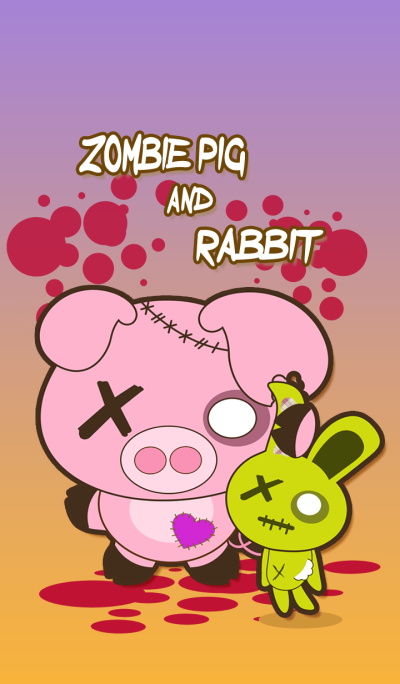 zombie pig and rabbit