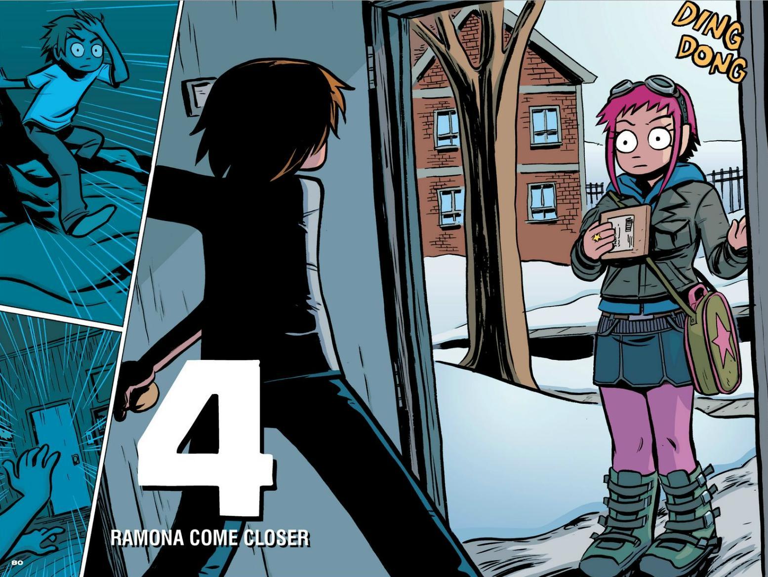 Read online Scott Pilgrim comic -  Issue #1 - 73