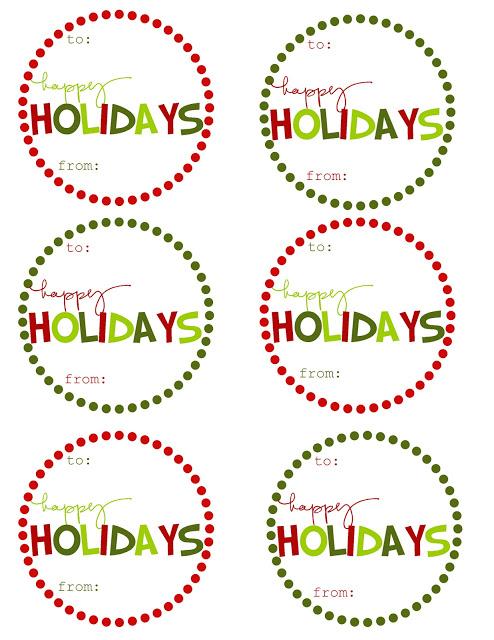 10 Free Sets of Christmas Gift Tag Printables   Redo It ...