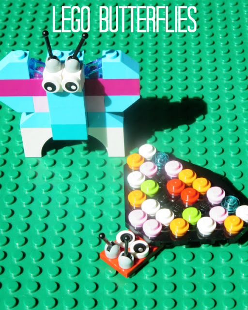 LEGO butterflies and butterfly unit study ideas