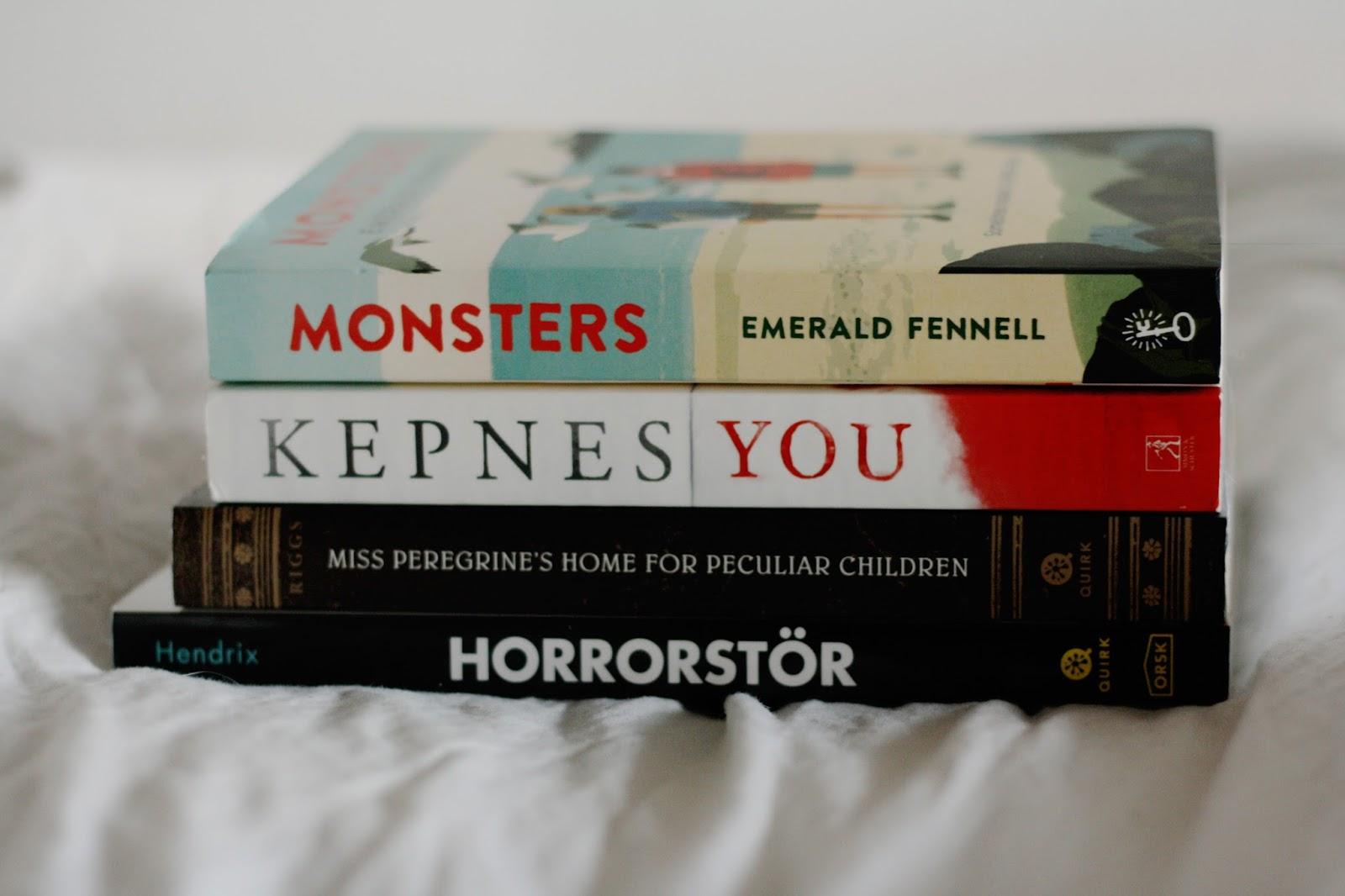 Monthly Reccomendations: Creepy Boeken - thestoryhour.nl