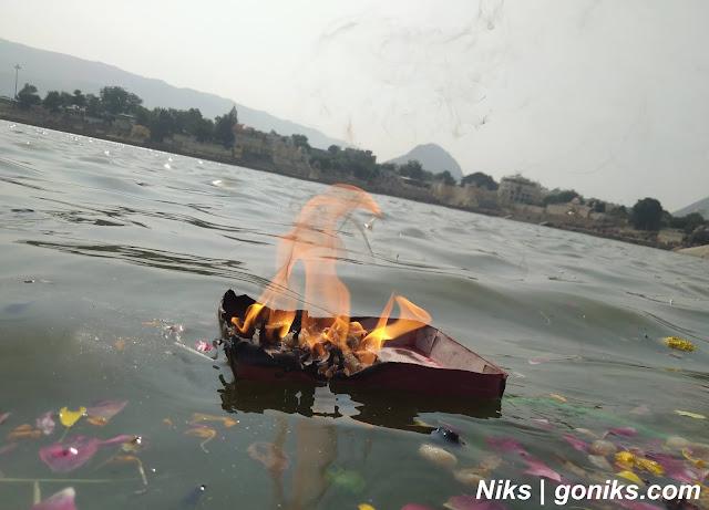 goniks pushkar lake view