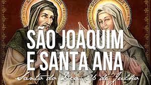 A Misericórdia Divina: Sant'Ana e São Joaquim, rogai por nós!