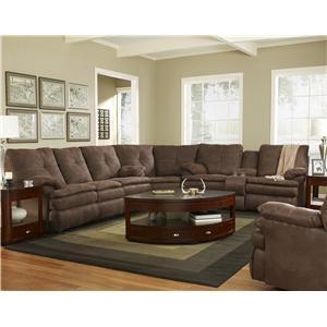 Knoxville Wholesale Furniture Corinthian 910 Abileene Dark Brown