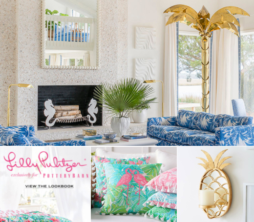 Lilly Pulitzer Palm Beach Decor