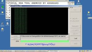 RDA CPU Android Flasher (Flash Tool) Latest Version Full Setup With Driver Free Downloading