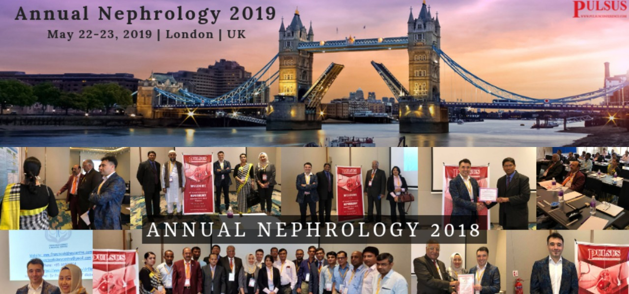19<sup>th</sup> Annual Conference on Nephrology