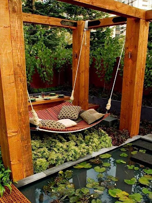 sillón para el jardín