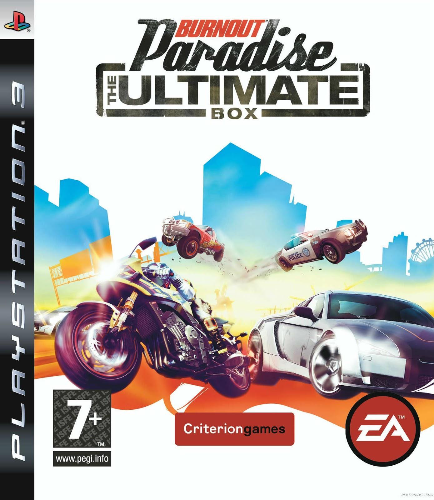 BlackOne: Burnout Paradise The Ultimate Box [PS3 HAN PKG]